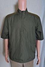 NWT Packable Polo Ralph Lauren Golf Short Sleeve Half-Zip Jacket Green M
