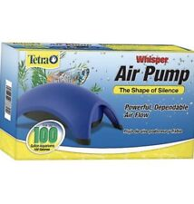 Tetra 77853 Whisper 100-Gallon Aquarium Air Pump never used open box
