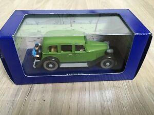 voiture tintin 1/43 atlas Le Lotus Bleu La Limousine 009