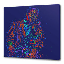 Canvas Music Abstract Art Prints