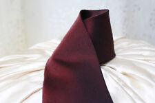 RENATO CASATI Italy ♛ VINTAGE Krawatte WEINROT changierend uni 10cm ❤️1459i