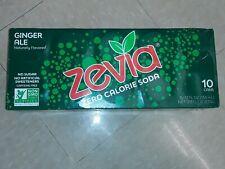 ZEVIA-Zero Calorie Soda - Ginger Ale, Pack of 20 ( 12 FZ )