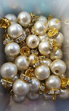 Gold Pearl Buttons for Asian Outfits and Dresses