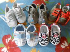 Chaussures bébé 6/9 mois, lot de 5 paires