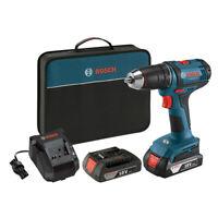 Bosch 18V Li-Ion 1/2 in. Compact Tough Drill Driver Kit DDB181-02 New