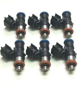 Fuel Injector Set Bosch 0280158191 NEW X 6 BR3Z-B 3.5L 3.7L