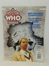 DOCTOR WHO Magazine DWM #172 April  1991