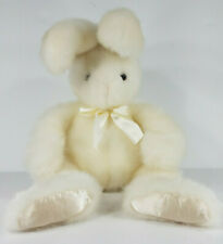 First & Main Cottontail white 17 inch plush Easter bunny rabbit stuffed animal