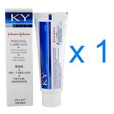 Johnson & Johnson KY K Y Jelly Personal Lubricant Vaginal Dryness Cream 100g x 1