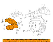 TOYOTA OEM 2011 Sienna-Exhaust Manifold 171400P160
