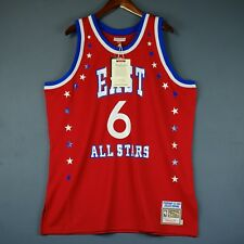 100% Authentic Julius Erving Dr J Mitchell & Ness 83 All Star Jersey Size 52 2XL