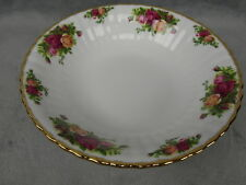 "Royal Albert Old Country Roses 9"" Round Vegetable Bowl England"