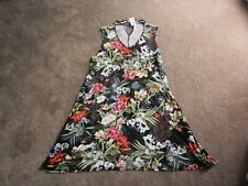 { BNWT }  GEORGE sleeveless floral dress size 20  { eur 48 }