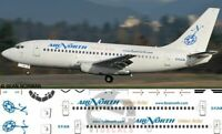 V1 Decals Boeing 737-200 Air North for 1/144 Airfix Model Airplane kit V1D0241