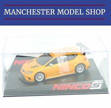 NINCO 50649 1:32 SEAT LEON Cup Racer #2 Arancione Nuovo in Scatola