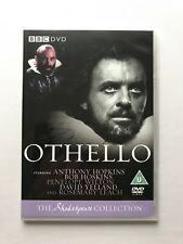 NEW Othello dvd BBC Shakespeare Collection Anthony Hopkins & Bob Hoskins 1981