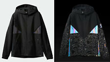 2018 NWT MENS ADIDAS X BAPE ADICOLOR SNOW JACKET $675 M Black RARE