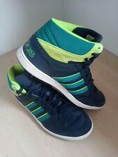 Older Boys adidas Hoops Light Hi Top Trainers Size UK 4.5 EU 37 1/3