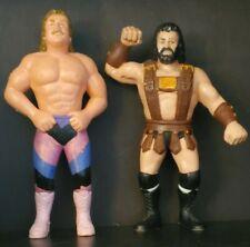 "WWF/WWE Hercules & ""Ravishing"" Rick Rude 1989 LJN Grand Toys Black Card"