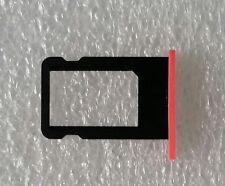 Support De Carte Sim Adaptateur Plateau Traîneau Rouge pour iPhone 5C