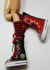 Custom Sneakers w/Hello Kitty For Blythe/Pullip/Monster High/Lalaloopsy - SN338