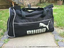 PUMA Sporttasche Tasche Weekender schwarz vintage Original