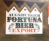HASEN BRAU BREWERY GERMANY FORTUNA EXPORT BEER LABEL unused