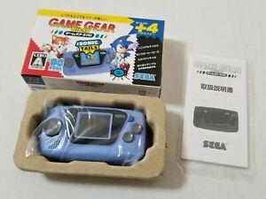 Sega Game Gear Micro Console Blue HCV-3277 Japan 0721A16