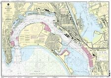 NOAA Chart San Diego Bay 43rd Edition 18773