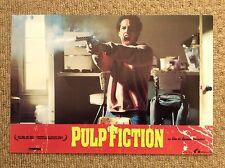 PULP FICTION Original Lobby Card ALEXIS ARQUETTE QUENTIN TARANTINO Colt 45 GUN