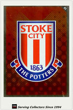 2010-11 Topps Match Attax English Premier Soccer Club Logo R14 Stoke City
