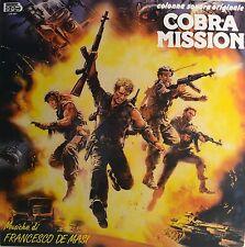 """Est-Soundtrack-Missione Cobra-De Masi 12"""" LP (l728)"""
