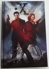 SIGNED The X Files Classics Gillian Anderson Chris Carter  Haglund  Harris  SDCC