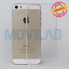 Funda trasera Iphone 5 / 5S / SE trasera ultrafina transaparente gel / TPU