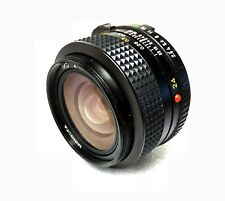 Minolta MD 24mm F2.8 Wide Lens - suit dSLR, mirrorless, micro 4/3 camera