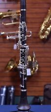 Antigua Winds CL3230S Backun Bb Wood Clarinet - Silver Plated Keys w/ Case