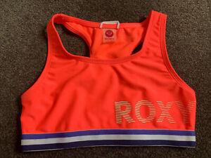 ROXY GIRLS BIKINI top Size 10 NEW with tags SWIMWEAR