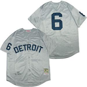 Detroit Tigers #6 Al Kaline Men stitched jersey