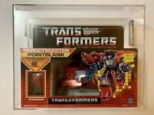 Pointblank AFA MISB NEW 1987 Hasbro Vintage G1 Transformers Action Figure
