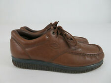 SAS Pathfinder Comfort Shoes Diabetic Walking Brown Soft Leather Mens Size 8.5M