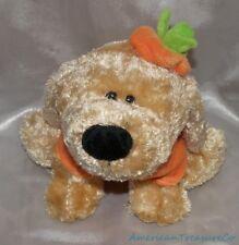 """Snuggie Toy Plush Beanie 10"""" Golden Retriever Puppy Dog Pumpkin Outfit Halloween"""