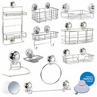 """Super Suction """"Vertex"""" Bathroom Wall Accessories 