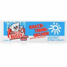 Bussy Kratz Trink-Becher 40 Stück á 200ml - gefroren genießen