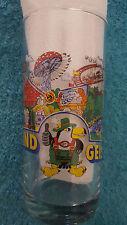 "Freizeit-Land Geiselwind Glass Souvenir Germany Amusement Park Rare 5"" Tall"