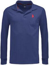 Camisas y polos de hombre de manga larga en azul Polo