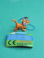 Schtroumpf Azraël figurine Porte-clés 3D Bijoux strap charm Cool Things Smurf