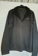 Excellent Condition Craghoppers Dark Grey Fleece Sweatshirt Size Large