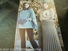 Wendy Shrug, 3 Way buttoned Wrap and Wrist Warmers Pattern 5985