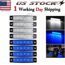 White Blue 8 Pods Underbody Led Rock Lights For Jeep Offroad Truck Utv Atv Boat