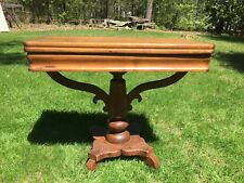 Antique Mahogany Game Card Table